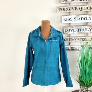 FREE COUNTRY   Hooded Teal Warm Jacket